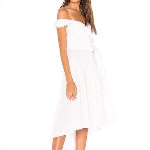 4ee0d2febd439e Revolve Dresses - MARLED X OLIVIA CULPO • OFF SHOULDER SHIRT DRESS